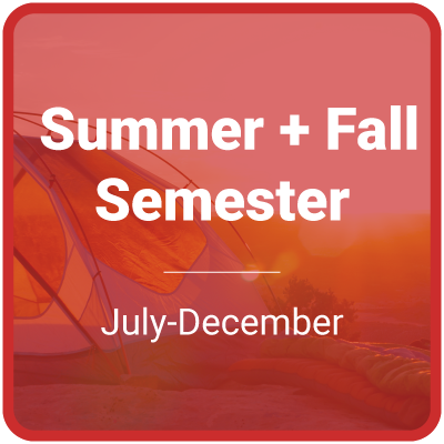 Summer and Fall Semester (July-December)